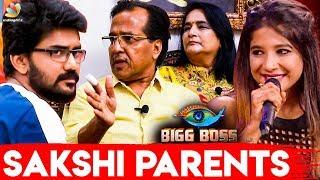 Kavin Double Game ஆடுறாரு : Sakshi Parents Interview | Bigg Boss Tamil | Losliya, Cheran