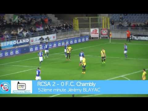 Résumé de la victoire du RC Strasbourg Alsace face a Chambly (2-0), lors de la 26e journée de National. En savoir plus : www.rcstrasbourgalsace.fr.