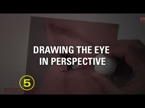 How to Draw the Eye In Perspective