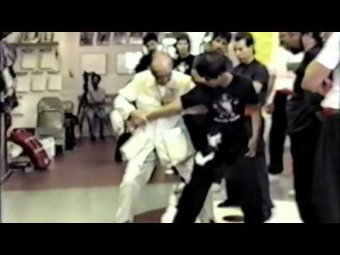 Great Grandmaster Hu Yuen Chou   Choy Li Fut Kung Fu Fighting Applications Image 1