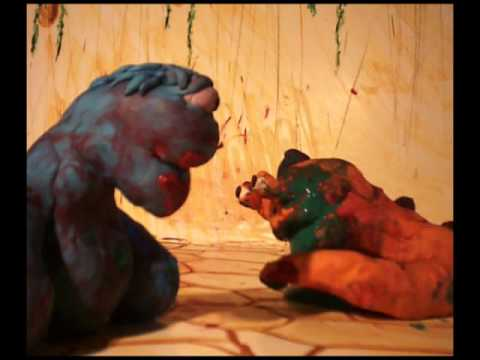 Alien Gladiator VIOLENT claymation