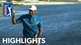 Tiger Woods' highlights | Round 3 | Hero 2019