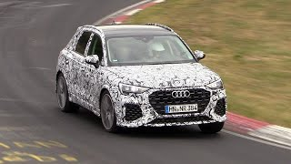 2019 Audi RS Q3 - Exhaust SOUNDS on the Nurburgring!