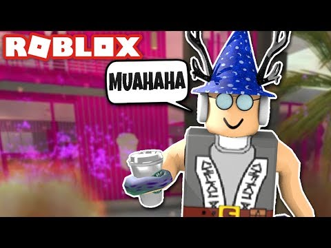 CAFE IN ROBLOX GETS RUINED! Roblox Frappe Cafe Trolling! Roblox Funny Moments
