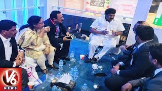 Minister Talasani Srinivas Yadav Team Visits Gulfood 2018 In Dubai