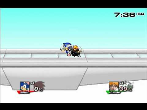 Super Smash Flash 2 Demo V0 7 Sonic And Tails Vs Mario And Wario