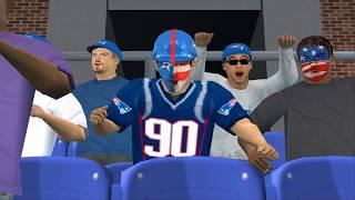 NFL 2K5 2018 - Super Bowl LII Simulation 4K60fps - Part 1