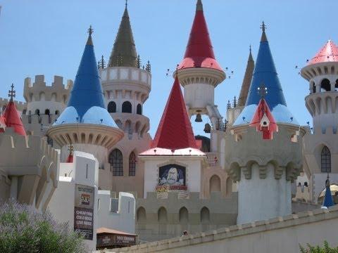 USA Las Vegas Excalibur Hotel & Casino die schönen Türmchen beautiful turrets