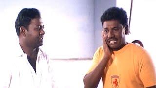 Comedy king Karunas in a Panchayat scene | Sudesi