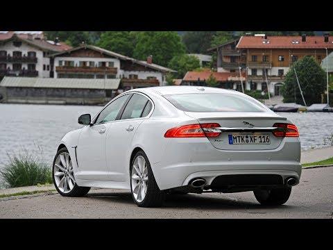 Обзор Jaguar XF 2012, часть 1
