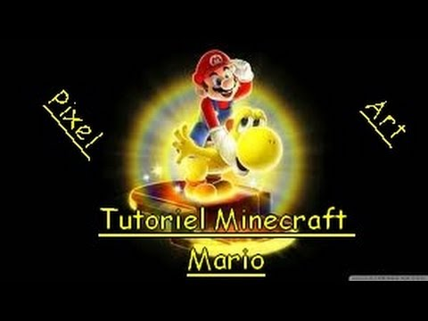 ★Minecraft★ Pixel Art - Mario ★ Tutorial ★