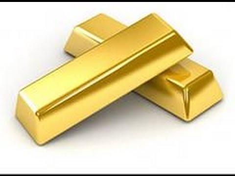Как сделать золотой самородок