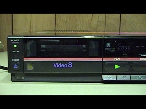 Sony CCD-TR91 Handycam and EV-A80 Video8 VCR Overview and Demonstration