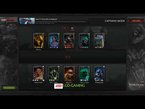 MarsTV Dota 2 League Group Stage -  LGD vs DK - Commentary by TobiWan and Pandaego