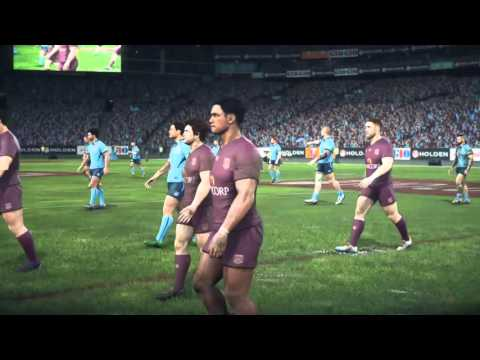 Rugby League Live 3 - Be A Pro ep.105 Origin Debut!
