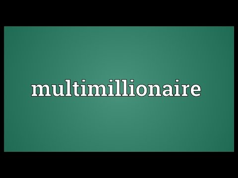 Header of multimillionaire