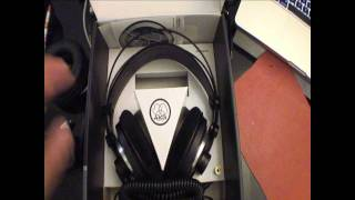 Unboxing of AKG K240 MkII & First Impressions
