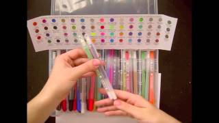 Sakura Gelly Roll 74 Set Review