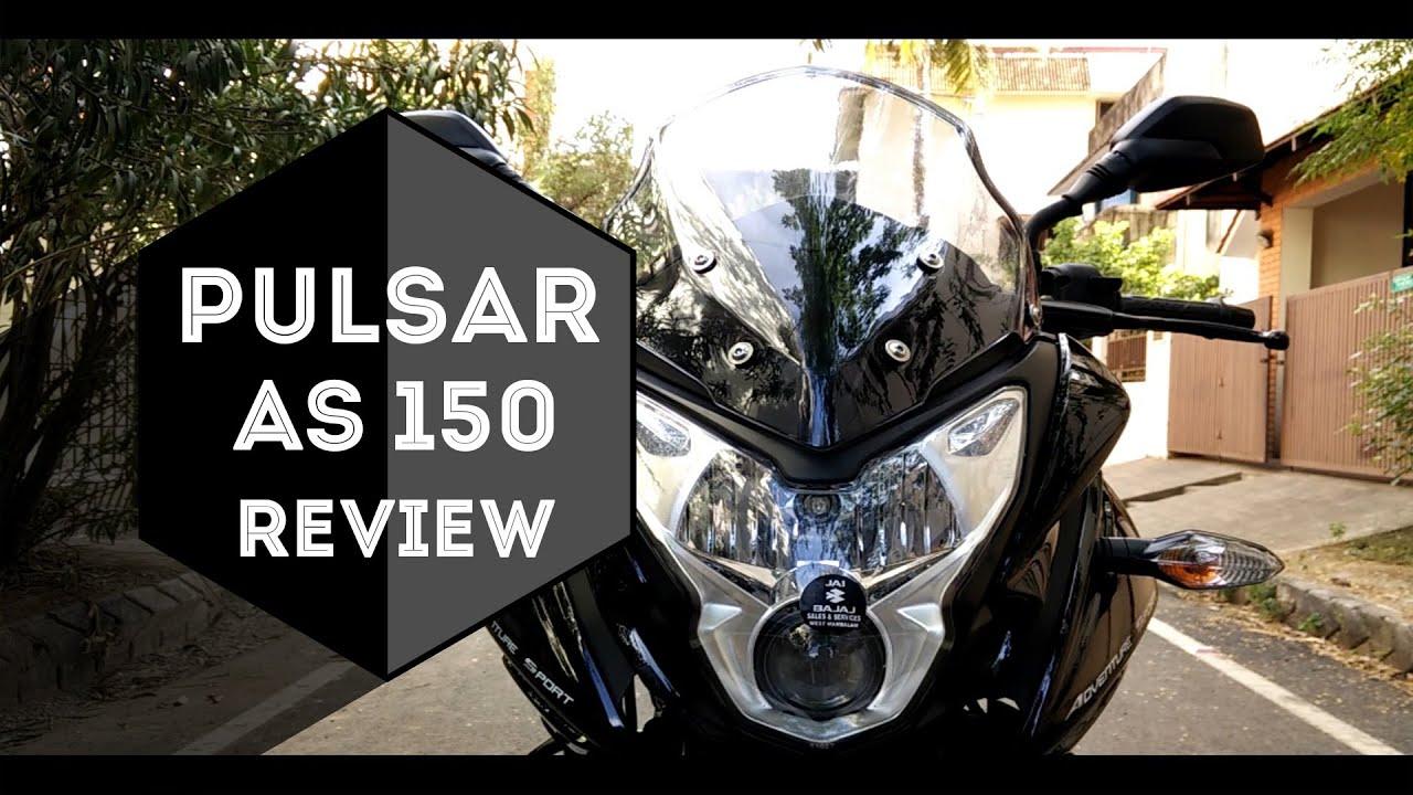 Bajaj Pulsar As150 Standard Bajaj Pulsar As150 | Review |