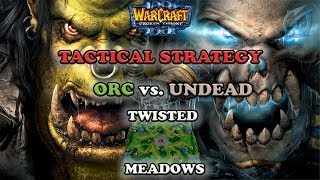 Grubby | Warcraft 3 The Frozen Throne | Orc v UD - Tactical Strategy - Twisted Meadows
