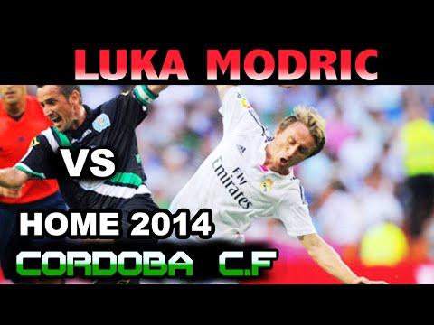 Luka Modric vs Cordoba HOME ( 25 - 08 - 2014 / 25/08/2014 - 25.08.2014 ) [HD]