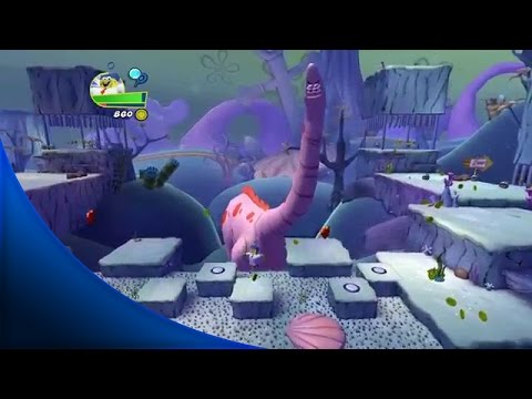 SpongeBob Heropants Walkthrough Part 1 - FULL Out of Water Gameplay