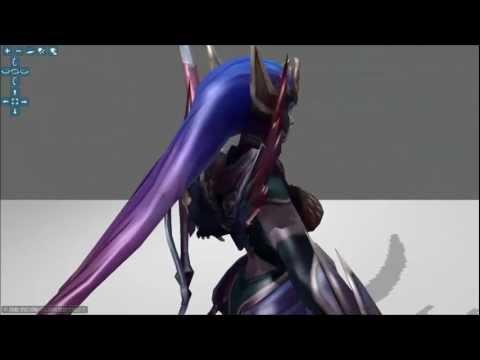 Dark Valkyrie Diana Headdress ▶ Dark Valkyrie Diana 3d