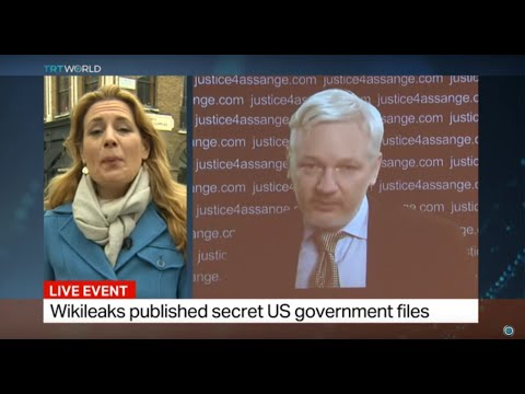 Julian Assange speaks after UN panel ruling, Hannah Hoexter reports