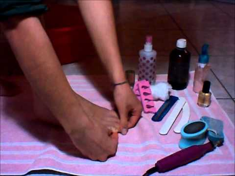 Tutorial Pedicure Fai da Te di Jojo