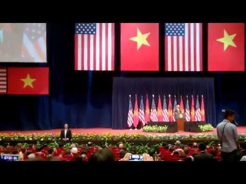 Barack Obama President: Full Speech About The Relationship Between US & Vietnam In Hanoi  2016