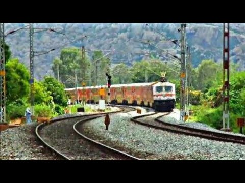 South India's first Double Decker heading towards Bangalore : Indian railways
