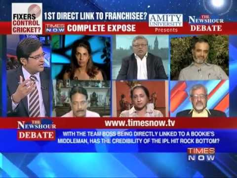 The Newshour Debate: Spot Fixing - First direct link to a franchisee ( Part 2 of 3)