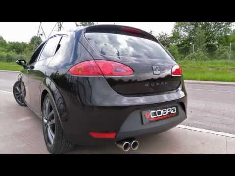 Seat Leon Cupra 2.0FSI 240PS (2006-2013) Cobra Sport Turbo Back Exhaust System