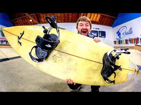 SURFING AT THE SKATEPARK?!