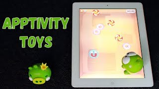 Apptivity Toys - Cut the Rope и Angry Birds