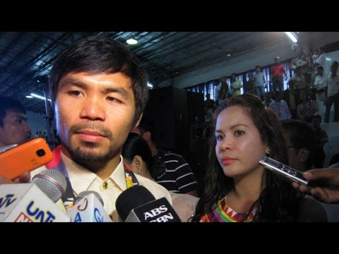 RE | Manny Pacquiao serious negotiation with Mayweather 40+ and PPV money