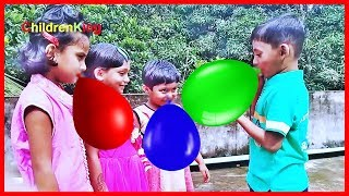 ►Kids Playing With Balloons | Video for Toddlers and Babies #ChildrenKing