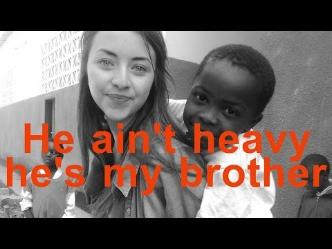 He Ain't Heavy, He's My Brother - The Hollies (lyrics) video