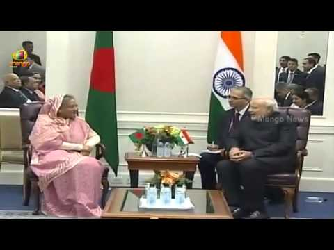 Modi meets Bangladesh PM Sheikh Hasina after addressing UN General Assembly