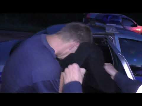 Погоня за пьяным бесправником на 15, п. Костино. Место происшествия 14.08.2017