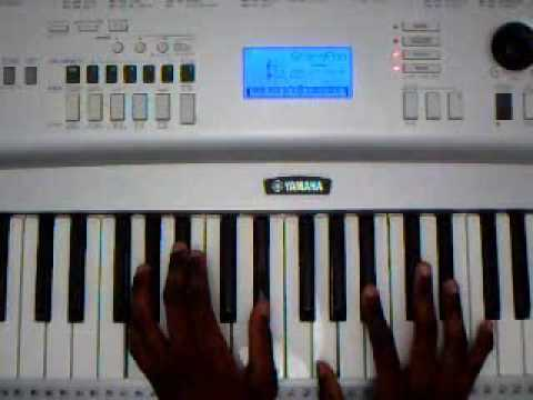 Chill piano chords
