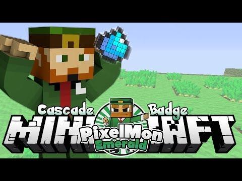 Minecraft Pixelmon Emerald #53 'Cascade Badge'
