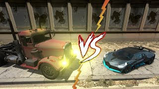 TRUCK vs CARS!  Who will win? BeamNG Drive Crashes 2019