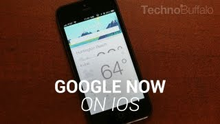 Google Now for iOS!