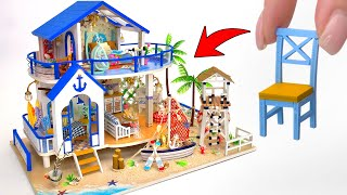 DIY Miniature Beach House By The Sea
