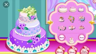 Tasty and beautiful cake by barbie play
