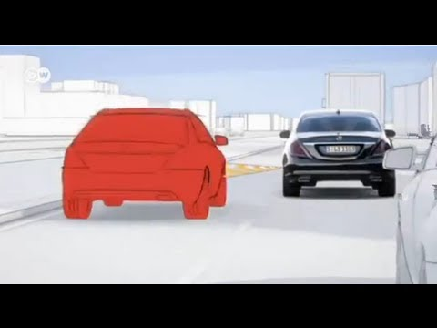 За рулем автопилот - самый продвинутый Mercedes S-класса