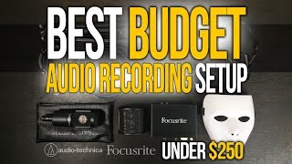 Philippines Best Budget Audio Recording Setup | Audio Technica AT2035 Focusrite Scarlett Solo Gen 2