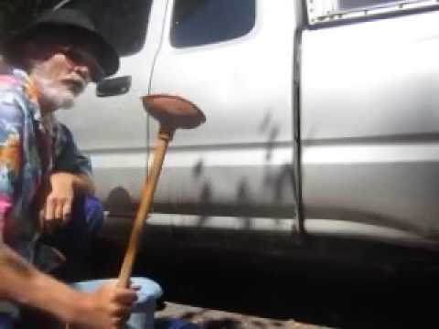 How To Remove Car Dents With A Plunger - How To Repair Dents - How To Fix Car Dents