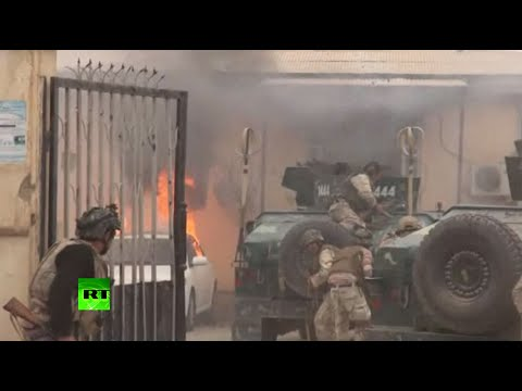 Afghanistan real-time combat: Violent battle with Taliban caught on camera